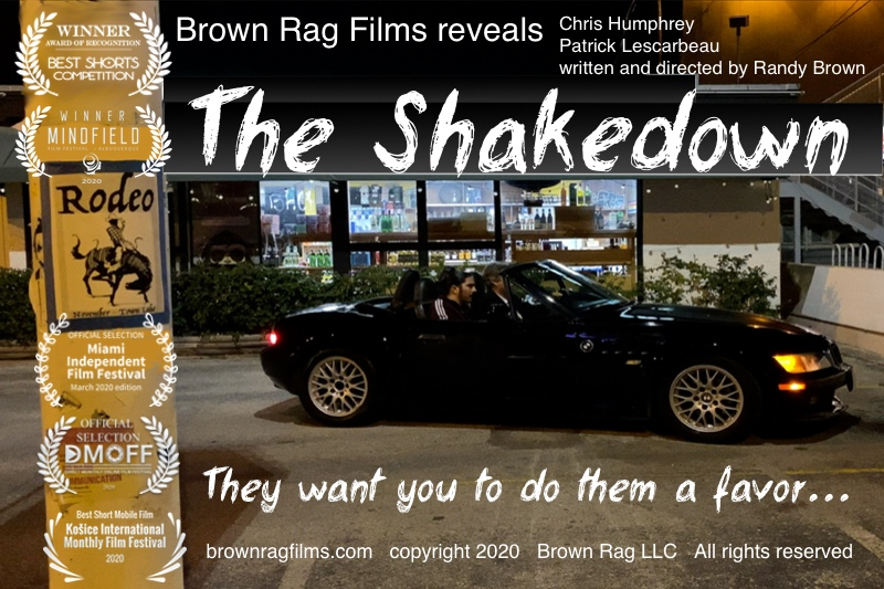 The Shakedown home page